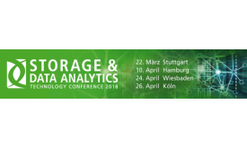 STORAGE & DATA ANALYTICS Technology Conference 2018 Logo